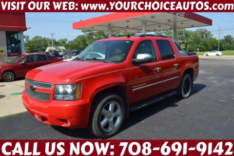 2011 Chevrolet Avalanche for sale at Your Choice Autos - Crestwood in Crestwood IL