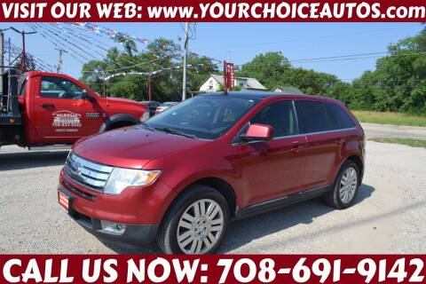 2008 Ford Edge for sale at Your Choice Autos - Crestwood in Crestwood IL