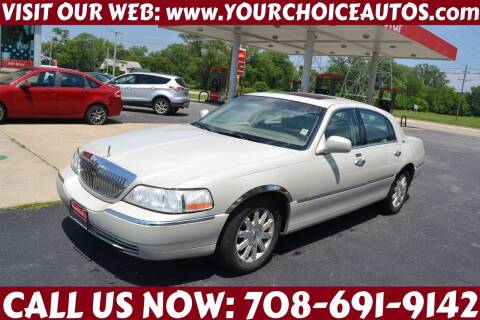 2007 Lincoln Town Car for sale at Your Choice Autos - Crestwood in Crestwood IL