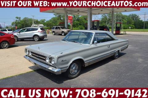 1967 Plymouth Satellite for sale at Your Choice Autos - Crestwood in Crestwood IL