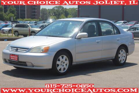 2001 Honda Civic for sale at Your Choice Autos - Joliet in Joliet IL