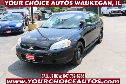 2015 Chevrolet Impala Limited for sale at Your Choice Autos - Waukegan in Waukegan IL