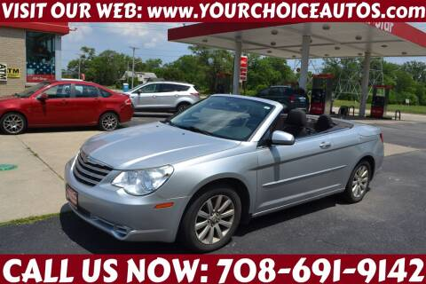 2010 Chrysler Sebring for sale at Your Choice Autos - Crestwood in Crestwood IL