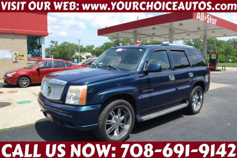 2005 Cadillac Escalade for sale at Your Choice Autos - Crestwood in Crestwood IL