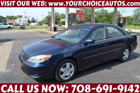 2002 Toyota Camry for sale at Your Choice Autos - Crestwood in Crestwood IL