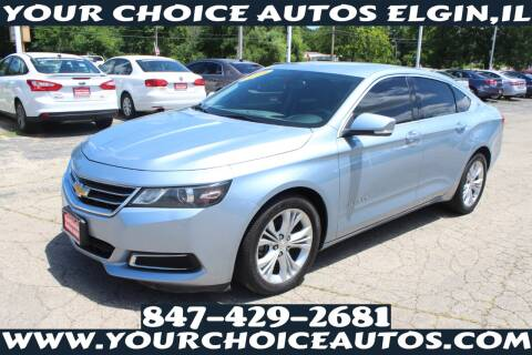2014 Chevrolet Impala for sale at Your Choice Autos - Elgin in Elgin IL