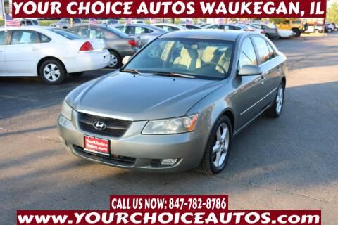 2007 Hyundai Sonata for sale at Your Choice Autos - Waukegan in Waukegan IL