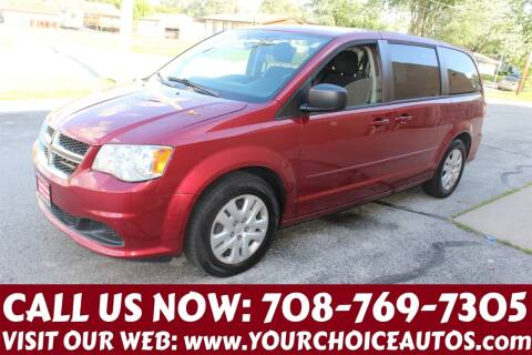 2015 Dodge Grand Caravan for sale at Your Choice Autos in Posen IL