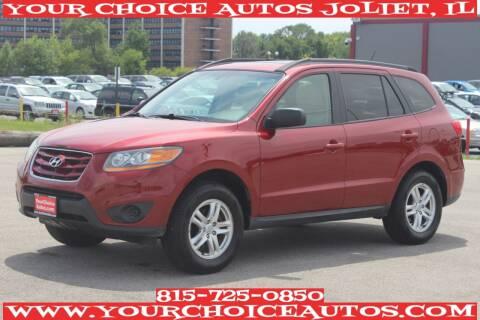2011 Hyundai Santa Fe for sale at Your Choice Autos - Joliet in Joliet IL