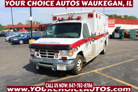 2002 Ford E-Series Chassis for sale at Your Choice Autos - Waukegan in Waukegan IL