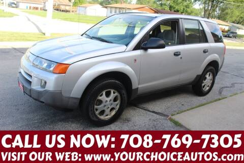 2003 Saturn Vue for sale at Your Choice Autos in Posen IL