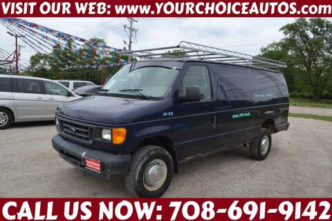 2004 Ford E-Series Cargo for sale at Your Choice Autos - Crestwood in Crestwood IL