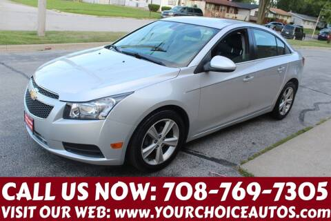 2014 Chevrolet Cruze for sale at Your Choice Autos in Posen IL