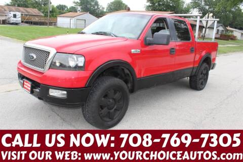 2005 Ford F-150 for sale at Your Choice Autos in Posen IL