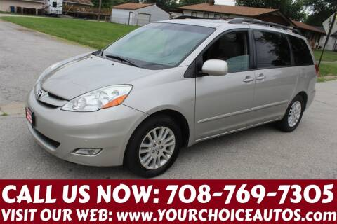 2009 Toyota Sienna for sale at Your Choice Autos in Posen IL