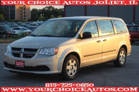 2013 Dodge Grand Caravan for sale at Your Choice Autos - Joliet in Joliet IL