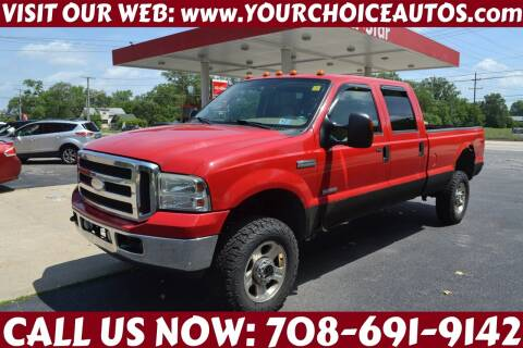 2005 Ford F-350 Super Duty for sale at Your Choice Autos - Crestwood in Crestwood IL