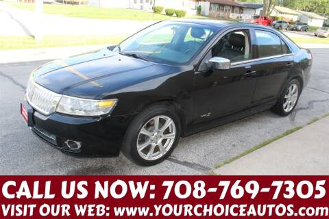 2008 Lincoln MKZ for sale at Your Choice Autos in Posen IL