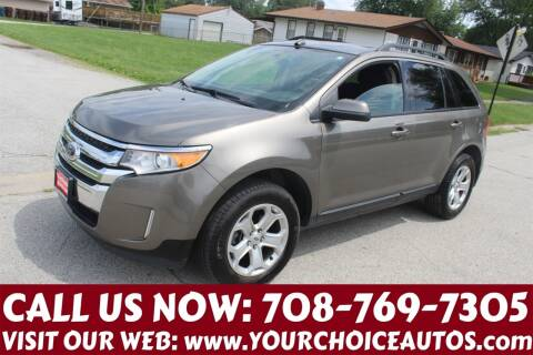 2014 Ford Edge for sale at Your Choice Autos in Posen IL