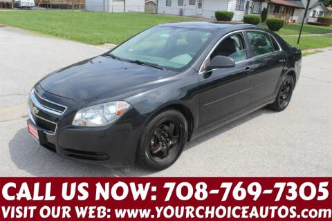 2012 Chevrolet Malibu for sale at Your Choice Autos in Posen IL