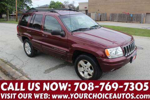 2001 Jeep Grand Cherokee for sale at Your Choice Autos in Posen IL