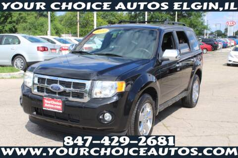 2010 Ford Escape for sale at Your Choice Autos - Elgin in Elgin IL
