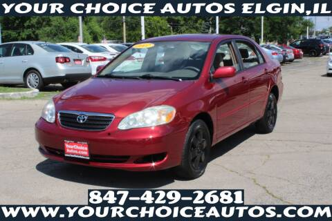 2007 Toyota Corolla for sale at Your Choice Autos - Elgin in Elgin IL