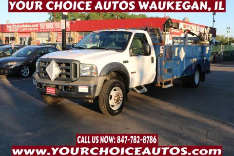 2006 Ford F-550 Super Duty for sale at Your Choice Autos - Waukegan in Waukegan IL
