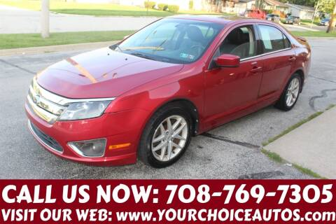2010 Ford Fusion for sale at Your Choice Autos in Posen IL