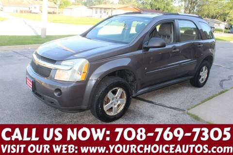 2007 Chevrolet Equinox for sale at Your Choice Autos in Posen IL