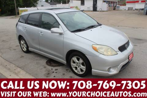 2005 Toyota Matrix for sale at Your Choice Autos in Posen IL