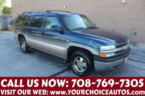 2001 Chevrolet Suburban for sale at Your Choice Autos in Posen IL