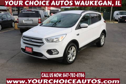 2018 Ford Escape for sale at Your Choice Autos - Waukegan in Waukegan IL