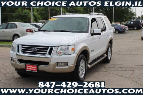 2007 Ford Explorer for sale at Your Choice Autos - Elgin in Elgin IL