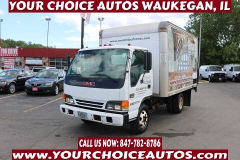 2002 GMC W4500 for sale at Your Choice Autos - Waukegan in Waukegan IL