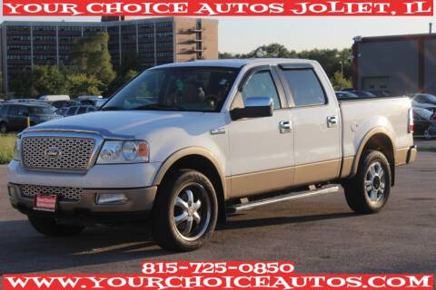 2005 Ford F-150 for sale at Your Choice Autos - Joliet in Joliet IL