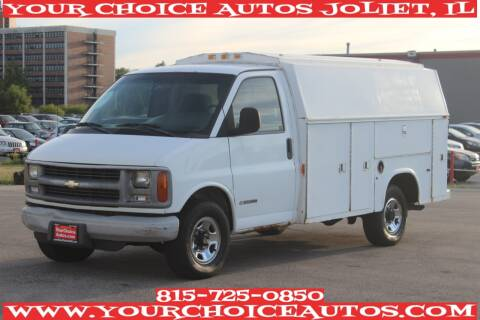 2002 Chevrolet Express Cutaway for sale at Your Choice Autos - Joliet in Joliet IL