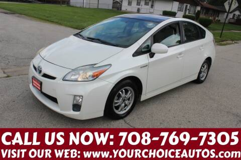 2010 Toyota Prius for sale at Your Choice Autos in Posen IL