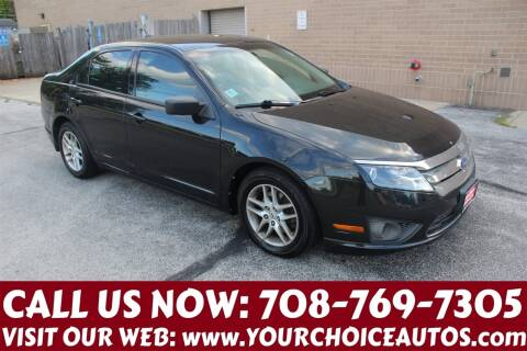 2011 Ford Fusion for sale at Your Choice Autos in Posen IL
