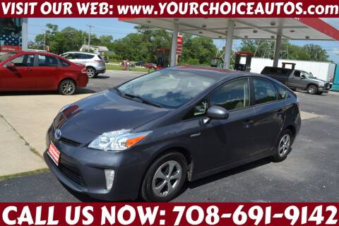 2015 Toyota Prius for sale at Your Choice Autos - Crestwood in Crestwood IL