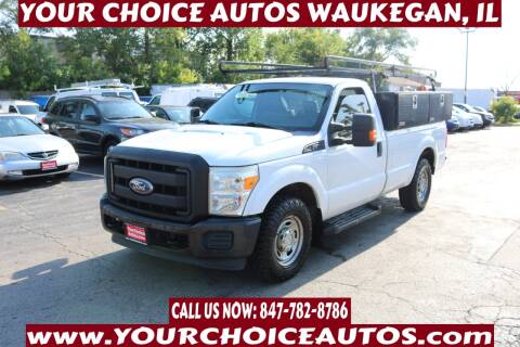 2011 Ford F-250 Super Duty for sale at Your Choice Autos - Waukegan in Waukegan IL