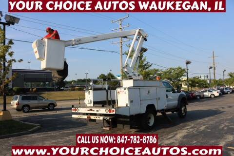 2011 Ford F-550 Super Duty for sale at Your Choice Autos - Waukegan in Waukegan IL