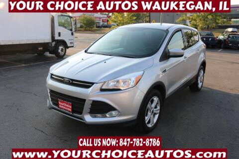 2014 Ford Escape for sale at Your Choice Autos - Waukegan in Waukegan IL