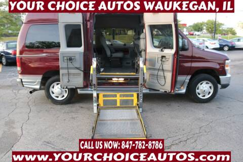 2008 Ford E-Series Wagon for sale at Your Choice Autos - Waukegan in Waukegan IL