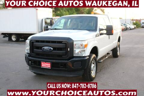2012 Ford F-350 Super Duty for sale at Your Choice Autos - Waukegan in Waukegan IL