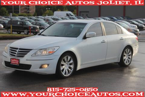 2009 Hyundai Genesis for sale at Your Choice Autos - Joliet in Joliet IL