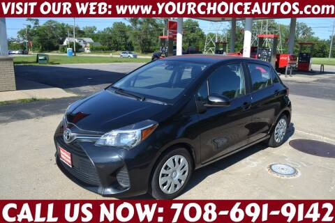 2017 Toyota Yaris for sale at Your Choice Autos - Crestwood in Crestwood IL