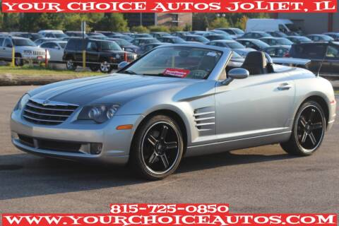 2005 Chrysler Crossfire for sale at Your Choice Autos - Joliet in Joliet IL