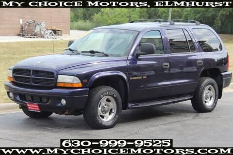 1998 Dodge Durango for sale at Your Choice Autos - My Choice Motors in Elmhurst IL