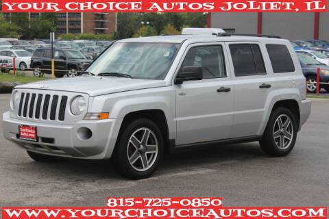 2008 Jeep Patriot for sale at Your Choice Autos - Joliet in Joliet IL